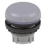 Eaton White Pilot Light Head, 22.5mm Cutout M22 Series