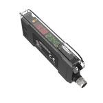 Banner Fibre Amplifier 1100 mm, PNP Output, 960 mW, IP50, 10 → 30 V dc