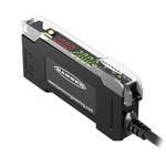 Banner Fibre Amplifier 3000 mm, PNP Output, 840 mW, IP50, 10 → 30 V dc