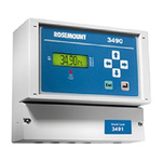 Rosemount 3490 Series Level Controller - Panel Mount, 115 [arrow/] 230 V ac 1 Current, Voltage Input 1 x 4 - 20mA + 5 x