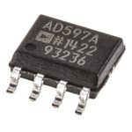 AD597ARZ Analog Devices, Instrumentation Amplifier 15kHz, 5  30 V, 8-Pin SOIC