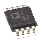 AD628ARMZ Analog Devices, 2-Channel Differential Amplifier 8-Pin MSOP