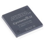 Altera FPGA EP2C5Q208C8N, Cyclone II 4608 Cells, 4608 Blocks, 208-Pin PQFP