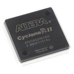 Altera FPGA EP2C8Q208C8N, Cyclone II 8256 Cells, 8256 Blocks, 208-Pin PQFP