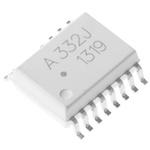 ACPL-798J-000E Broadcom, Sigma-Delta Modulator, 3 → 5.5 (VDD2) V, 4.5 → 5.5 (VDD1) V, 16-Pin SOIC