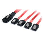 Startech 1m SFF-8087 (36 Pin, Internal Mini-SAS) Latching Plug SATA Cable