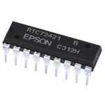 EPSON Q42724211000200, Real Time Clock (RTC) Parallel, 18-Pin PDIP
