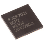 Analog Devices ADF7021BCPZ RF Transceiver IC, 48-Pin LFCSP