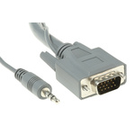 Roline Phono, VGA to Phono, VGA cable, Male to Male, 3m