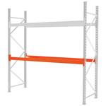 RS PRO 2 Shelf Pallet Shelving System Beams, 2000kg Load