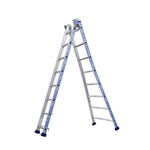 TUBESCA Aluminium Combination Ladder 10 steps 2.36m open length