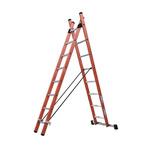TUBESCA Combination Ladder 8 steps 2.42m open length
