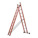 TUBESCA Combination Ladder 9 steps 2.7m open length