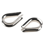 RS PRO Stainless Steel Electro Polished Thimble, 5mm