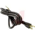 Power Cord; 13 A; SJT; 6 ft. 7 in.; 0.353 in. (Outer); 1625 W; 125 V; Black
