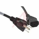 Power Cord; 10 A; 386; SVT Beldfoil, Unshielded, 7ft 6 in.