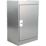 RS PRO 1 Door Steel Grey Tool Locker, 684 mm x 450 mm x 300mm