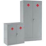 RS PRO 2 Doors Lockable Floor Standing Cupboard, 915 x 915 x 457mm