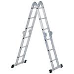 Zarges Aluminium Combination Ladder 12 steps 1.75m open length