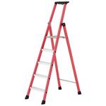 TUBESCA Fibreglass 5 steps Step Ladder, 1.15m platform height