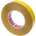 Tesa 51571 White Double Sided Cloth Tape, 25mm x 50m
