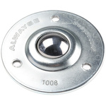 ALWAYSE 3-Hole Flange 25mm Steel Ball Transfer Unit