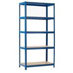 RS PRO Blue Storage Rack System Starter Bay, 1800mm, 900mm x 450mm