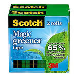 3M Clear Office Tape 19mm x 30m