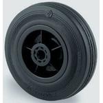 Guitel Black Rubber Trolley Wheel, 150kg