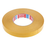 Tesa 4970 White Double Sided Plastic Tape, 19mm x 50m