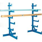 RS PRO Blue Steel Storage Rack, 1832mm x 840mm x 890mm