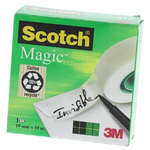 3M 810 Clear Office Tape 19mm x 33m