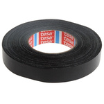 Tesa 4651 Acrylic Coated Black Duct Tape, 25mm x 50m, 0.31mm Thick