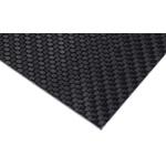 Carbon Fibre Sheet, 300mm x 300mm x 2mm