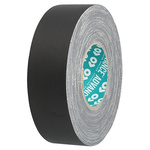 Advance Tapes AT160 Matt Black Cloth Tape, 19mm x 50m, 0.33mm Thick