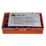 RS PRO BSP Self-Centring Imperial Kit Nitrile, Kit Contents 114 Pieces