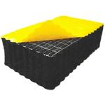 RS PRO Nitrile, PVC Acoustic Insulation, 1m x 1m x 15mm