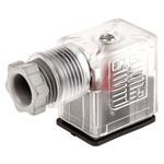 SMC Pneumatic Solenoid Coil Connector, DIN Connector