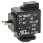 EMERSON – AVENTICS 24V dc 1.6W Replacement Solenoid Coil, Compatible With PS1, PVL