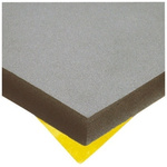 Paulstra Hutchinson Adhesive Rubber Acoustic Insulation, 500mm x 500mm x 30mm