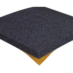 Paulstra Hutchinson Adhesive Rubber Acoustic Insulation, 500mm x 500mm x 22.5mm