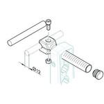 Bosch Rexroth Clamping Head 12mm, 100mm