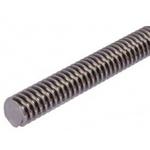 RS PRO Lead Screw, 10mm Shaft Diam. , 1000mm Shaft Length