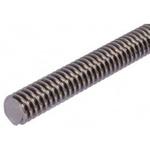 RS PRO Lead Screw, 20mm Shaft Diam. , 1000mm Shaft Length