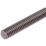 RS PRO Lead Screw, 12mm Shaft Diam. , 1000mm Shaft Length