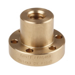 RS PRO Flanged Round Nut For Lead Screw, Dia. 14mm