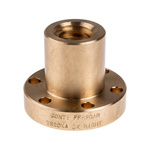 RS PRO Flanged Round Nut For Lead Screw, Dia. 20mm