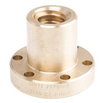RS PRO Flanged Round Nut For Lead Screw, Dia. 22mm