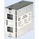 Block, HFE156, Signal Filter, 250 V ac 0.00006MHz, 10A, DIN Rail, Tab, 40 x 107 x 85mm