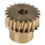 RS PRO Bronze 20 Teeth Worm Wheel Gear, 20.16mm PitchDiam. , 16mm Hub Diam. , 20mm Face Width